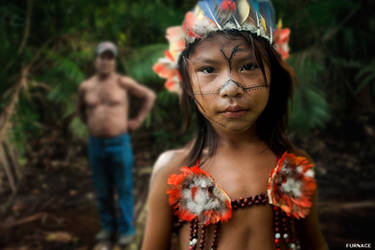 A Munduruku Tribe Girl by rick7777