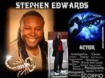 HBD actor friend STEPHEN EDWARDS (New Haven,CONN.)