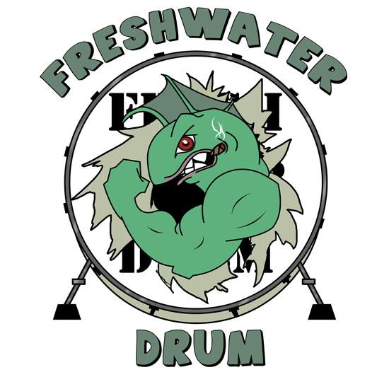 Freshwater Drum Band Logo By Whytseyed On Deviantart