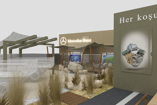 MercedesBenz Exhibiton - IDEF