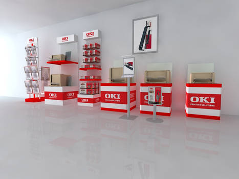 Industriel Desings For Oki Co.