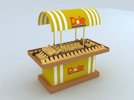 Dole Bananas Stand Design