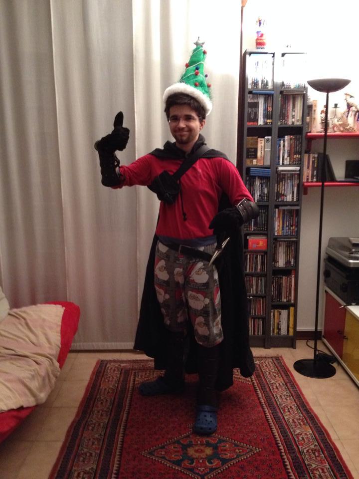 Sir Christmas knight by JohnLebrex