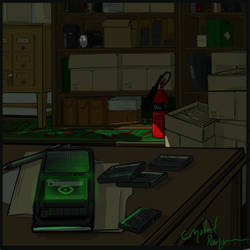Magnus Archives - Jon's Desk by CrystalRequiem