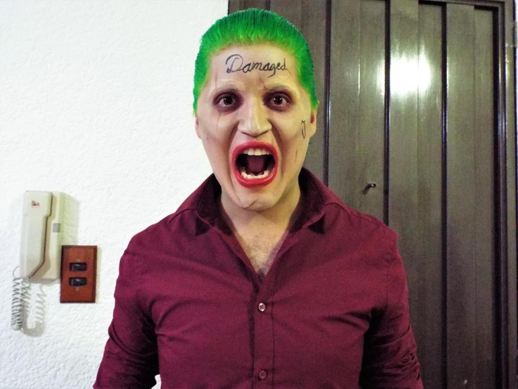 Joker Makeup - Suicide Squad 4 by Vampirezs ...