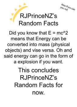 RJPrinceNZ's Random Facts Episode 16