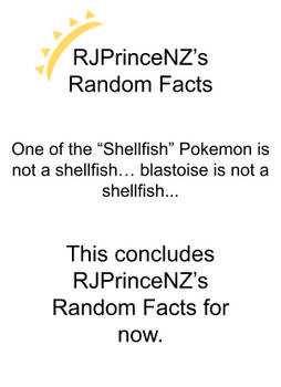 RJPrinceNZ's Random Facts Episode 21