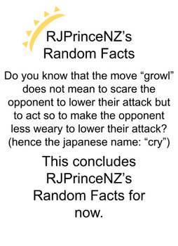 RJPrinceNZ's Random Facts Episode 23