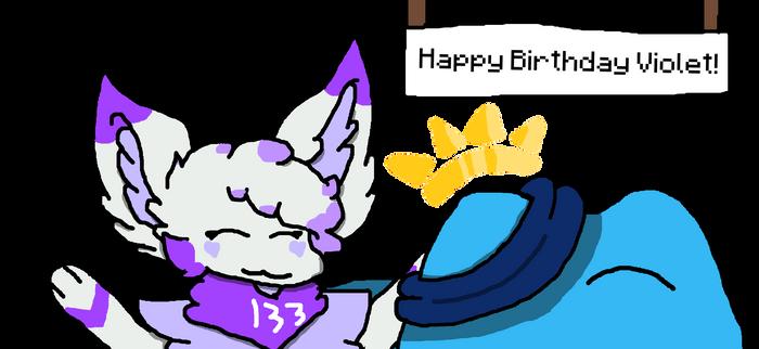 Happy birthday Violet! [Gift]