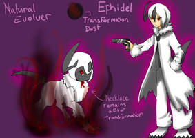 Evolvers - Ephidel the Absol by WishfulVixen