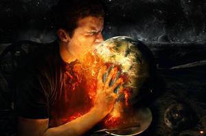 Man Eats World by FatherofGod