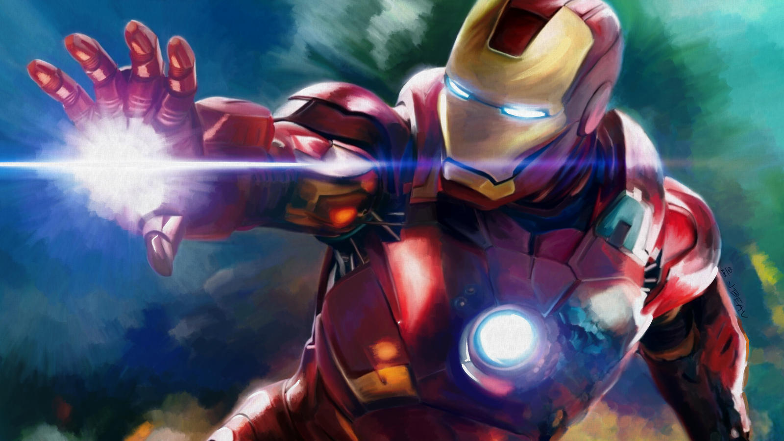 Ironman by jbeau3d