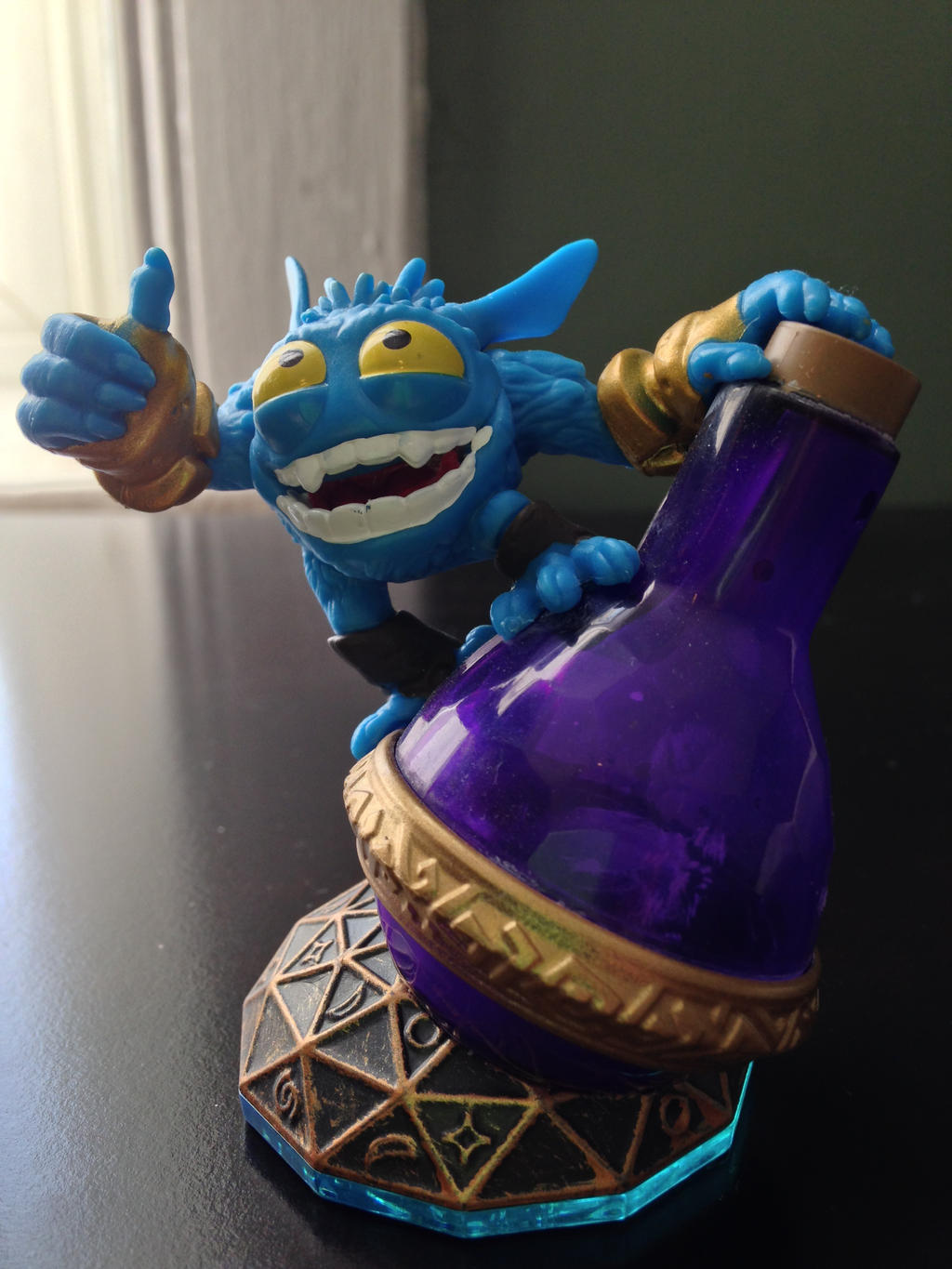 Skylanders Swap Force Loose Super Gulp Pop Fizz Figure ...
