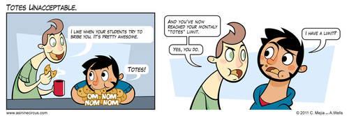 Totes Unacceptable by Torogoz