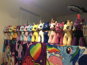 My build a bear my little pony collection update