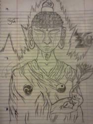 Zen Tha Buddhist by JRocKK