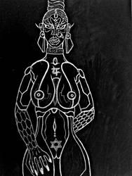 Parvati~Kali by JRocKK