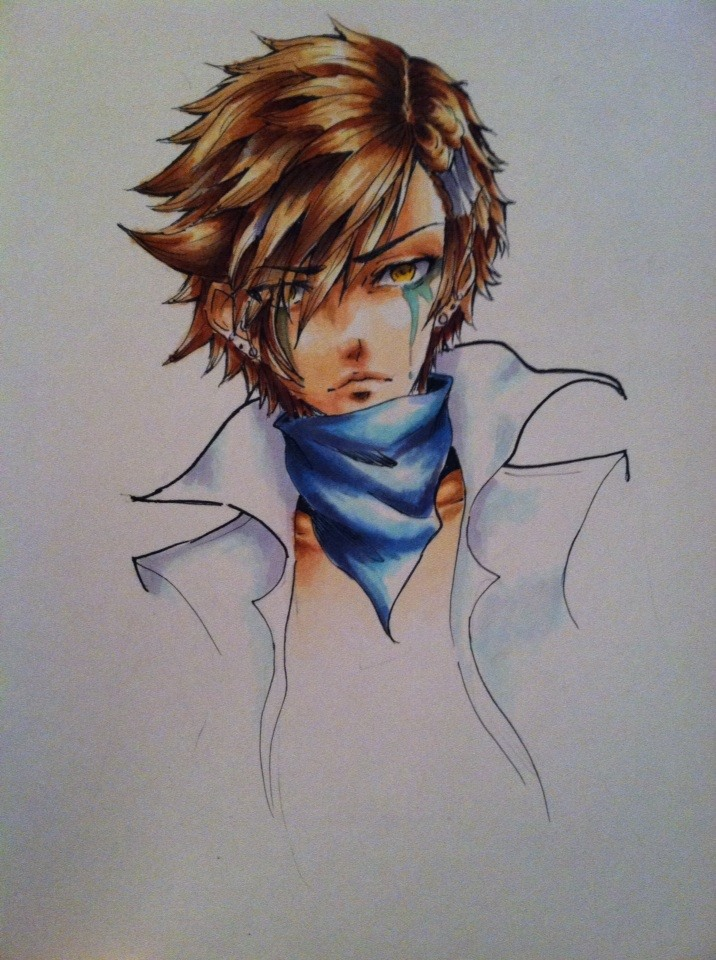 Kisuke copic practice by TruPink