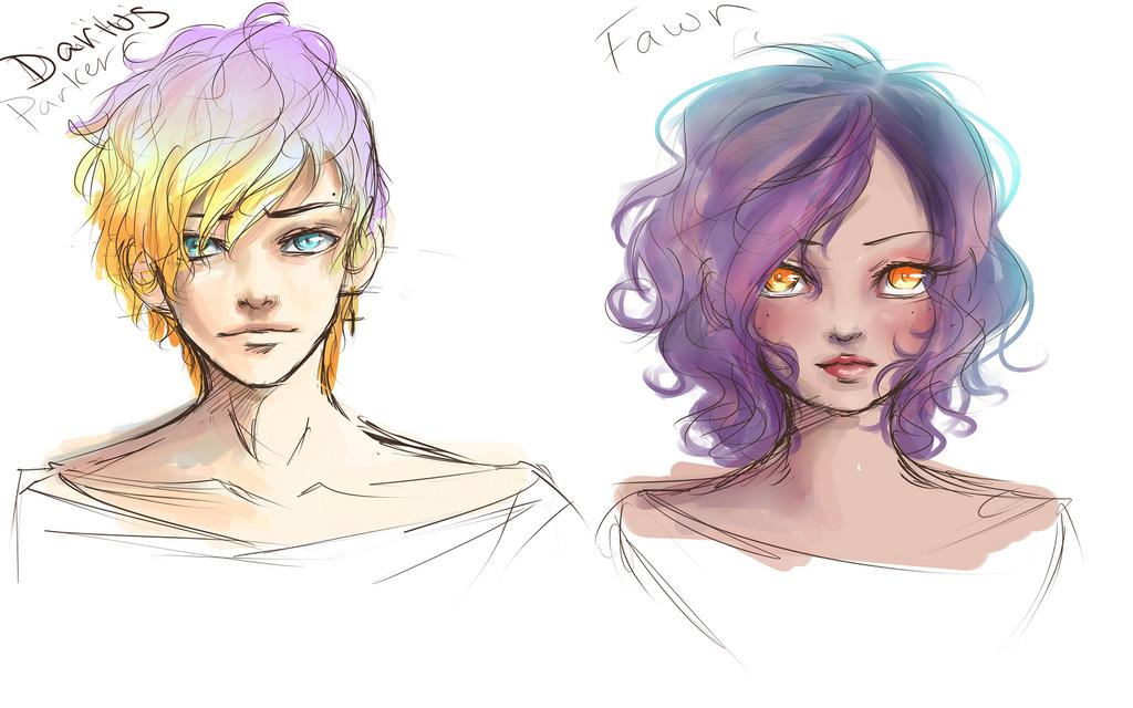 Sketch designs by TruPink