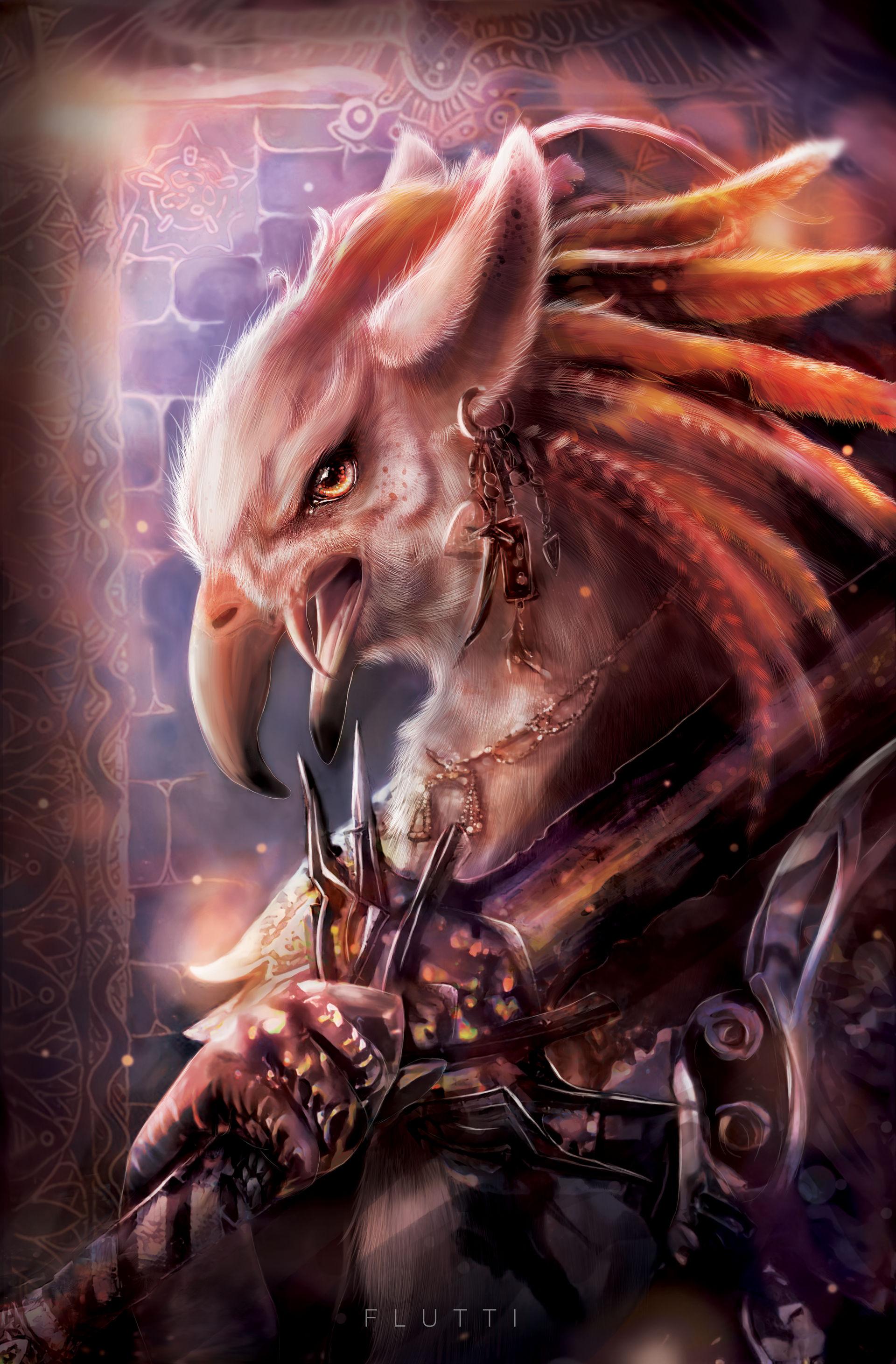 Two of Swords - Tyrian Tarot