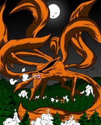 Nine Tailed Fox Demon Redone