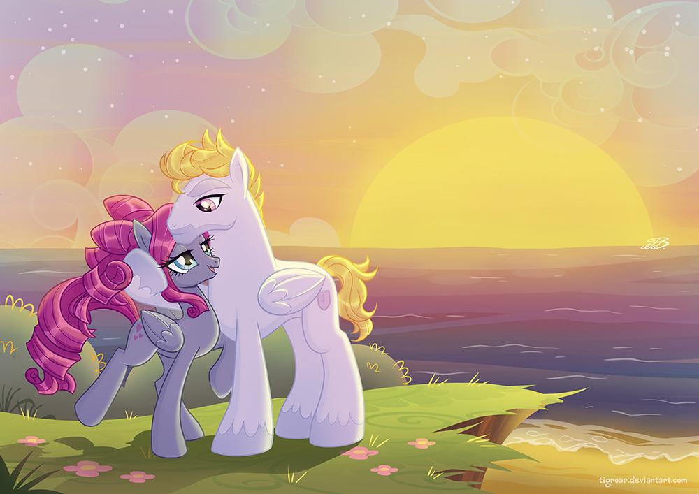 Poney love by Tigroar