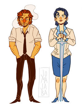 bigby and snow