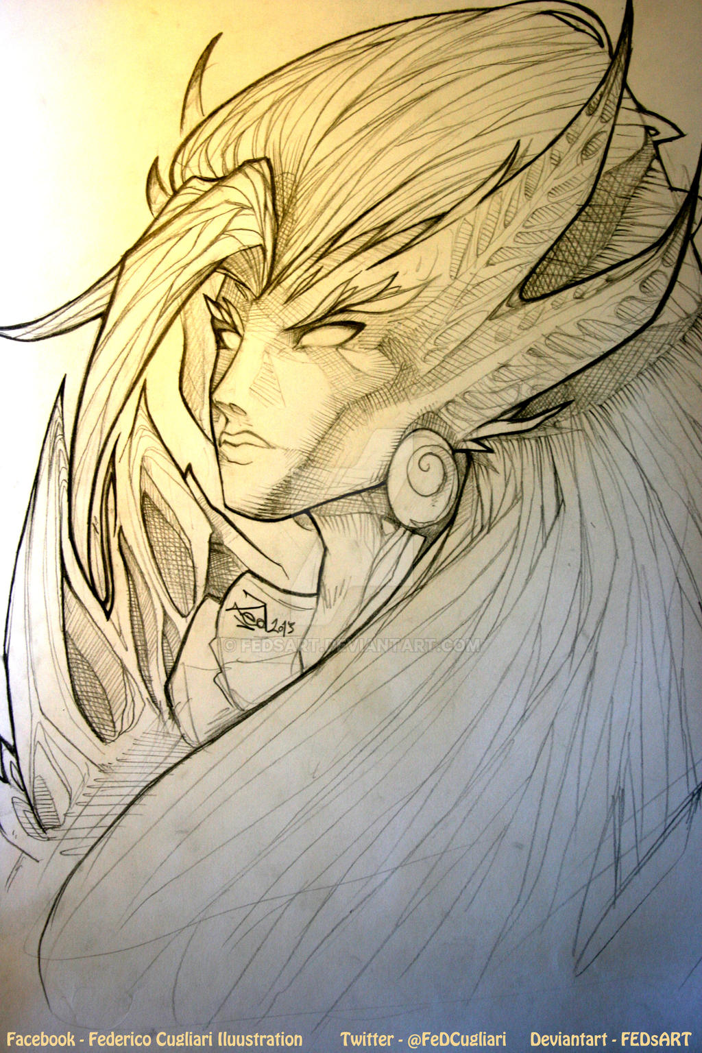 Sketching Zyra by FEDsART