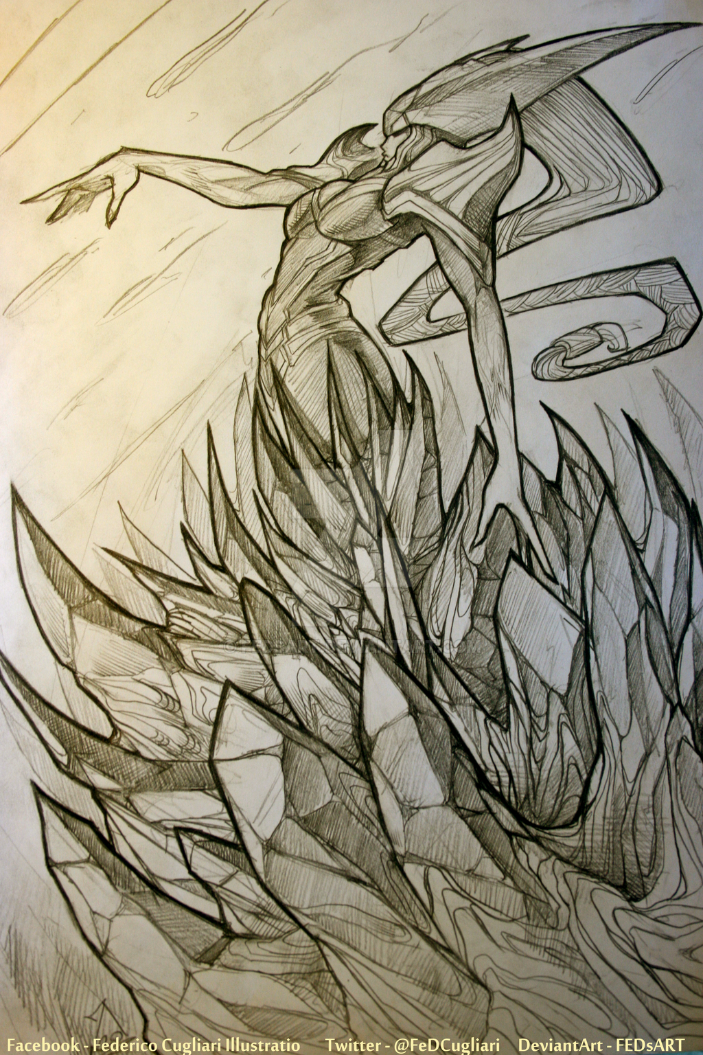 Sketching Lissandra by FEDsART