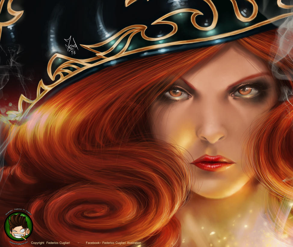 Miss Fortune portrait by FEDsART