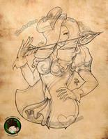 Heartseeker Ashe by FEDsART