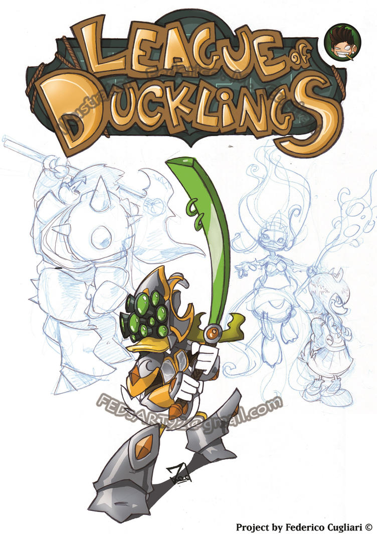Project League of Ducklings by FEDsART