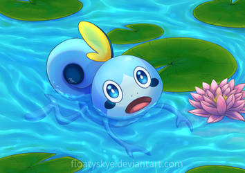 Swimming Sobble by FloatySkye