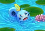 Swimming Sobble