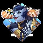 Hrothgar Ryu - Birthday Present by FloatySkye