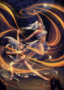 [CM] Kayla #5 Commission - Midnight Dancers
