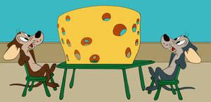 Hubie and Bertie - cheese stuff 1/2