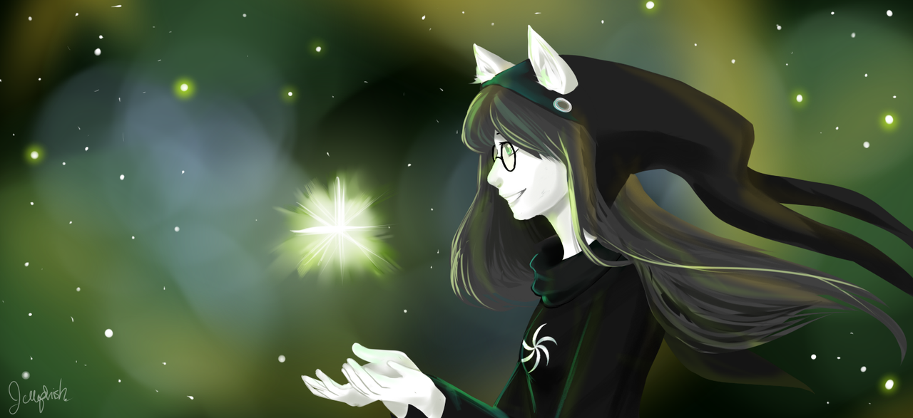 Witch of Space by IceValaxy