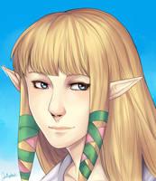 Zelda by IceValaxy
