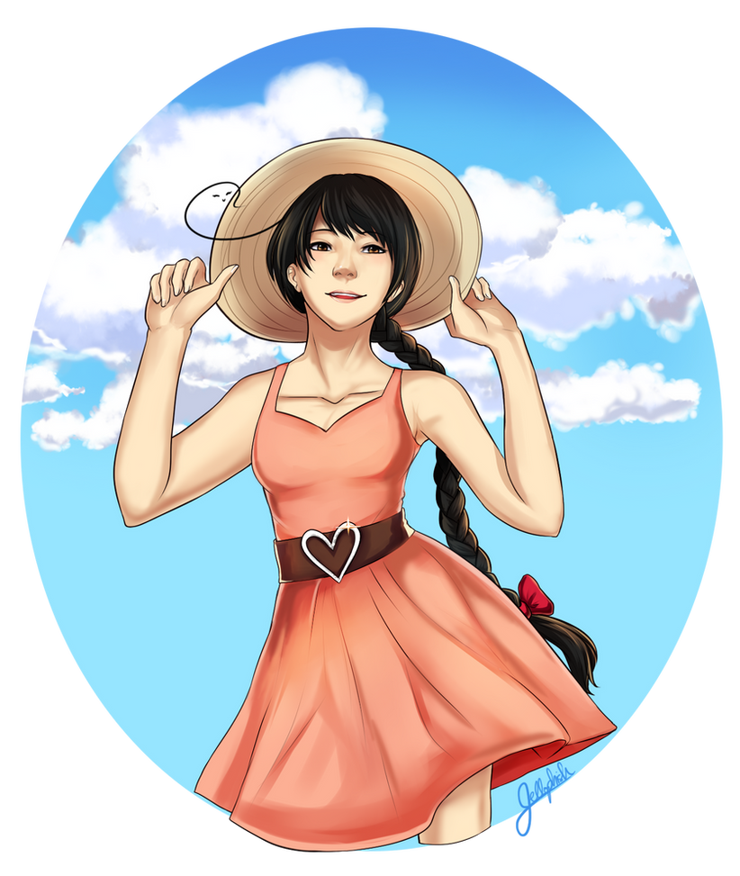 Sun Dress by IceValaxy