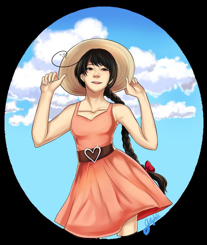 Sun Dress by IceValaxy