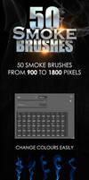 Smoke Brushes Pack by revn89