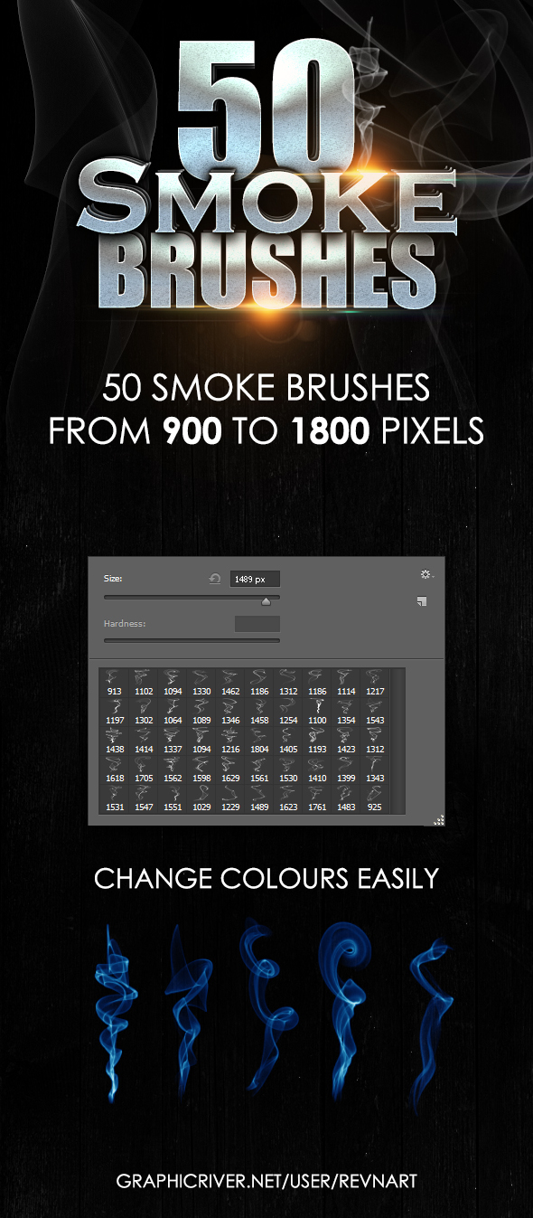 Smoke Brushes Pack by revn89