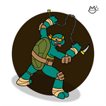TMNT - Party Dude