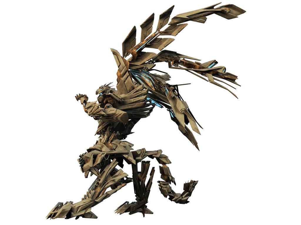 bahamut - robot back by acest