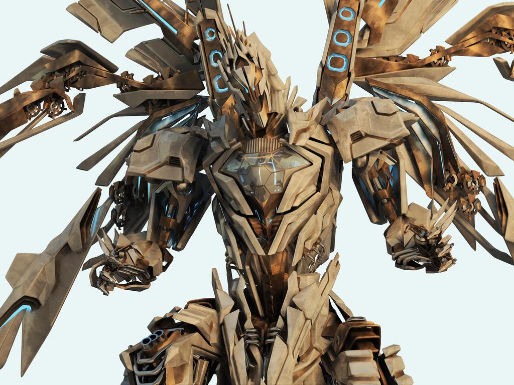 bahamut___robot_closeup_by_acest.jpg (1024×768) Graphic