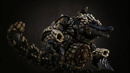 Crocodrillo by acest