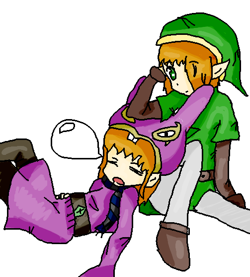 Jeramy And Lucas Link And Ravio Cosplay by animebaka94