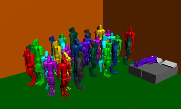 Quarian Gathering by AlexFili