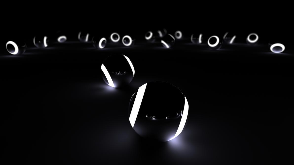 BlackWhite Balls by Creative-Activity